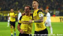 Deutschland Borussia Dortmund v Borussia Moenchengladbach - Bundesliga | Götze und Reus