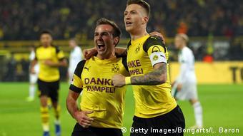 Deutschland Borussia Dortmund v Borussia Moenchengladbach - Bundesliga   Götze und Reus