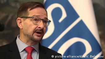 Raporu basına AGİT Genel Sekreteri Thomas Greminger sundu.