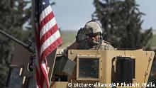 Syrien Manbidsch US Truppen