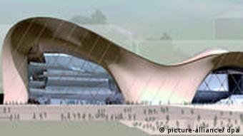 A design for the new Beethoven Hall dpa/lnw +++(c) dpa - Bildfunk+++