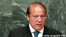 USA   Pakistan's Prime Minister Nawaz Sharif