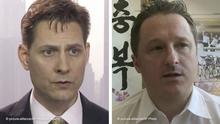 Kombobild - Michael Kovrig und Michael Spavor wurden in China festgenommen