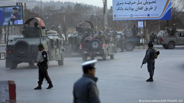 Afghanistan Anschlag in Kabul (picture-alliance/AP Photo/R. Gul)