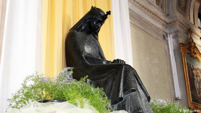 Kip Katarine Kosače u samostanu (DW/Z. Ljubas)