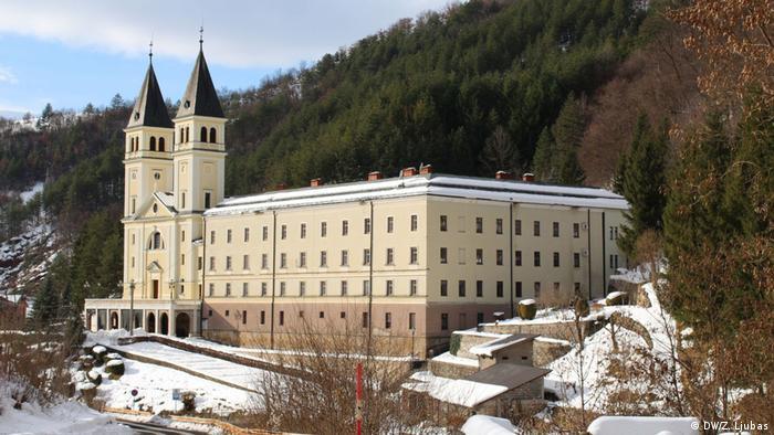 Samostan i crkva u Kraljevoj Sutjesci (DW/Z. Ljubas)