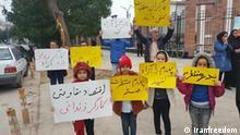 Iran Protest der Angehörigen von inhaftierten Arbeiter in Ahvaz