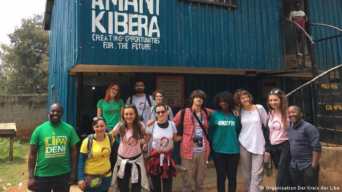 Kroatische humanitäre Organisation Der kies der Liebe in Kenia