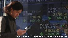 Japan Börse in Osaka