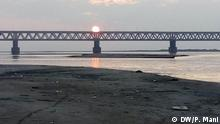 Indien Bogibeel Bridge in Assam