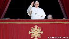 Vatikanstaat Weihnachten 2018 | Urbi et orbi, Papst Franziskus