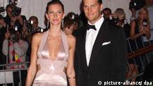 Gisele Bündchen mit Tom Brady