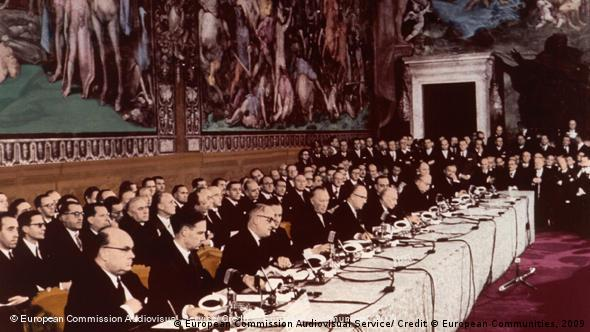 Flash-Galerie Timeline EU-Verträge