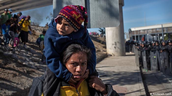 Milhares de pessoas deixaram nas últimas semanas países das Américas do Sul e Central para ir em direção aos EUA