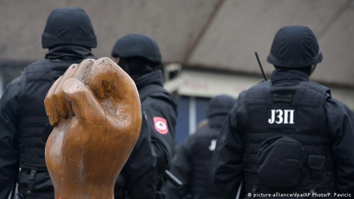 Bosnien-Herzegowina   Proteste in Banja Luka