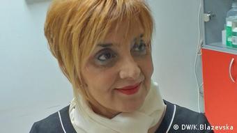 Gulistana Markovska (DW/K.Blazevska)