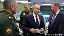 Russland | Putin verkündet Test der Interkontinentalrakete Avangard sei erfolgreich verlaufen
