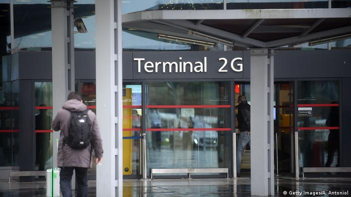 Paris airport evacuated after two men with fake guns spark panic