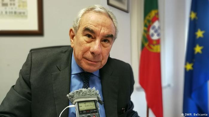 Francisco Ribeiro Telles, Exekutivsekretär der Gemeinschaft der portugiesischsprachigen Länder (CPLP) (DW/R. Belicanta)