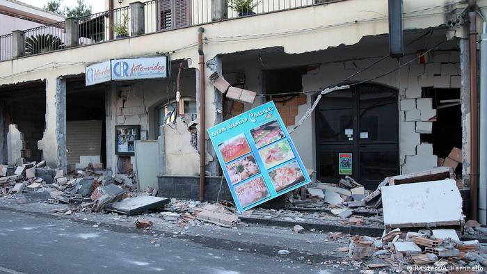 Наслідки стихійного лиха на Сицилії