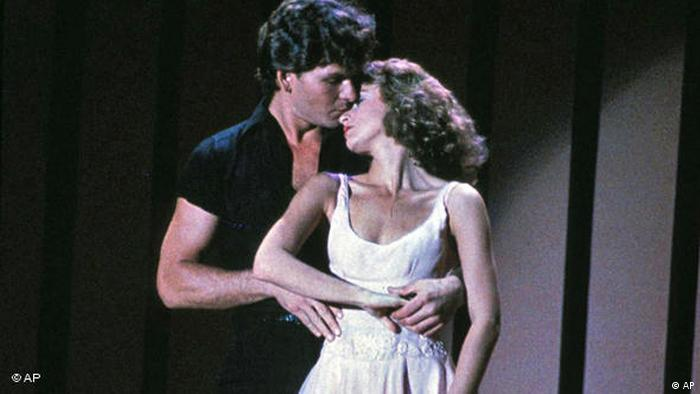 Film still of Jennifer Grey and Patrick Swayze in Dirty Dancing (AP)