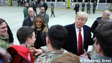 Trump besucht Ramstein Air Force Base