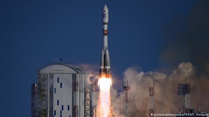 Запуск ракеты Союз 2.1а с космодрома Восточный