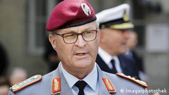 Germany's Bundeswehr Inspector General Eberhard Zorn (Imago/photothek)