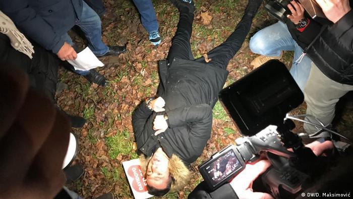 Bosnien und Herzegowina Banja Luka Proteste Mord Dragičević
