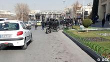 Iran Polizei In Isfahan