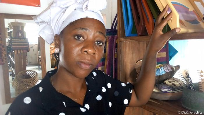 Mosambik - Atija Bakar - Händlerin auf der Insel Ibo