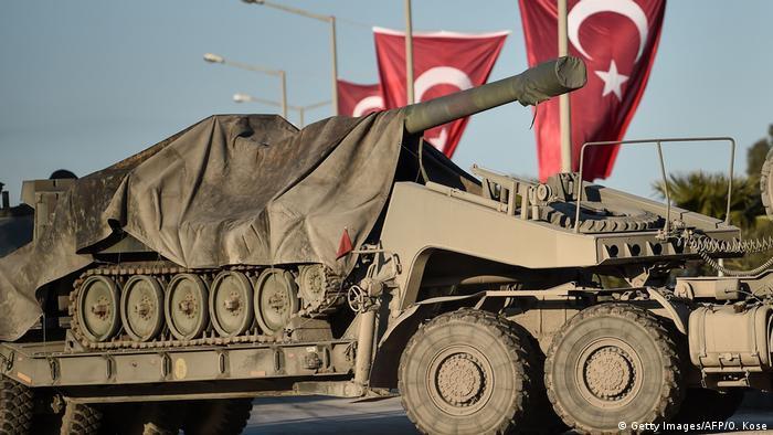 Турция перебрасывает спецназ на границу с Сирией