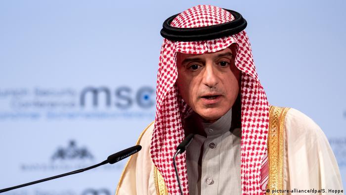 Saudi Arabien König Salman bildet Kabinett um | Adel bin Achmed al-Dschubeir (picture-alliance/dpa/S. Hoppe)