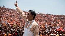 Madagaskar Wahlen - Wahlsieger und neuer Präsident Andry Rajoelina