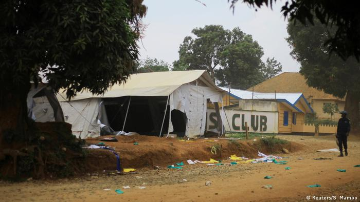 Ebola isolation center in Beni (Reuters/S. Mambo)