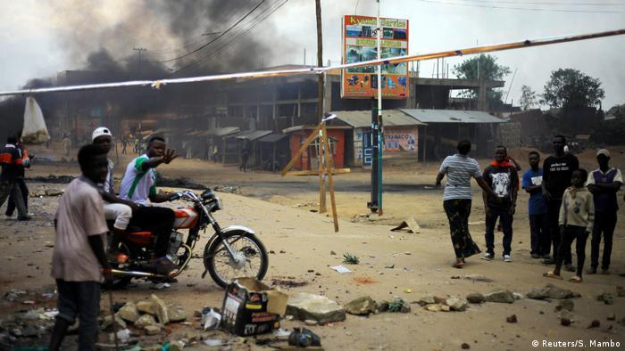 Kongo Beni | Protest & Demonstration gegen Ausschluss von Wahl