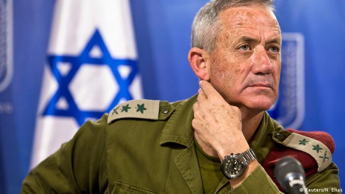 Israel - Ex-Gerneralstabchef Benny Gantz (Reuters/N. Elias)