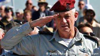 Israel - Ex-Gerneralstabchef Benny Gantz