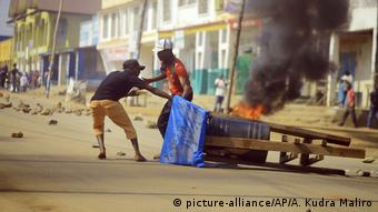 Un manifestant a tué par balle lors d'une marche contre l'inaction de l'ONU face aux massacres début avril à Butembo. Image/Archives.