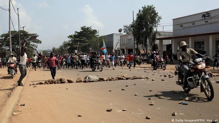 Kongo Beni | Protest & Demonstration gegen Ausschlus von Wahl