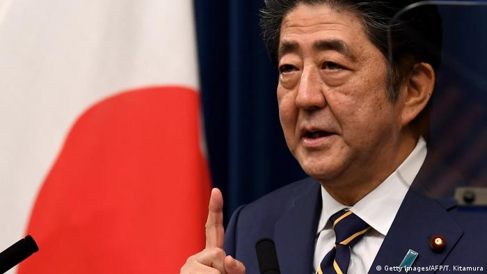 Japan Shinzo Abe (Getty Images/AFP/T. Kitamura)