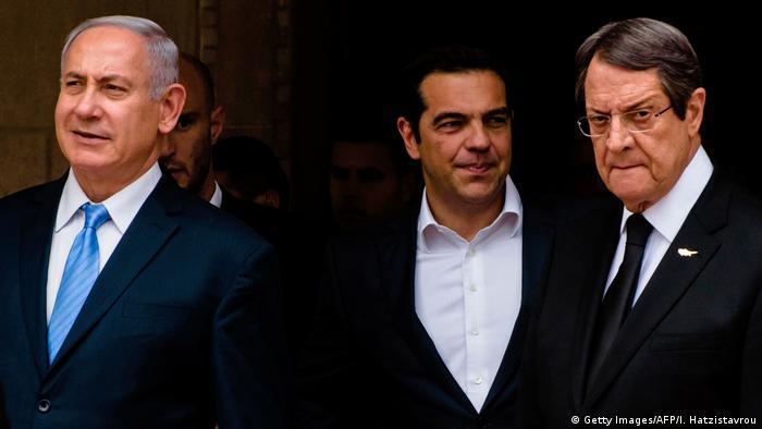 Israel, Cyprus and Greece leaders