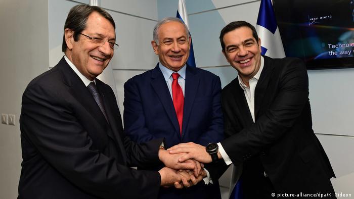 Israel, Zypern und Griechenland Diplomatie | Anastasiadis, Tsipras und Netanjahu