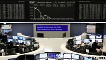 27.12.2018 The German share price index DAX graph is pictured at the stock exchange in Frankfurt, Germany, December 27, 2018. REUTERS/Staff