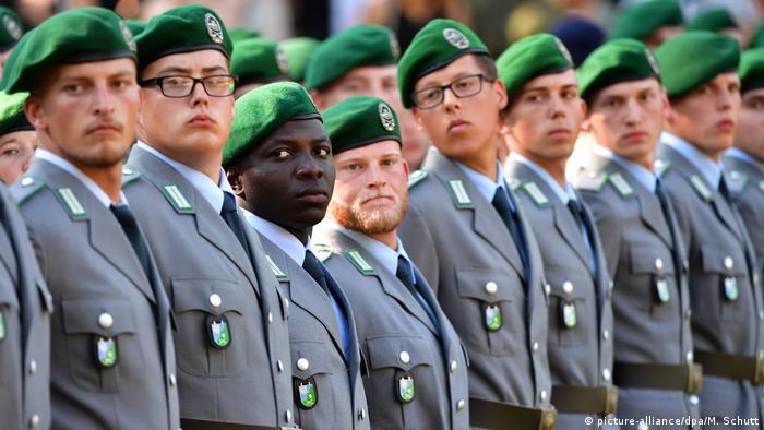 Bundeswehr Rekruten