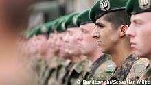 Bundeswehr Soldaten Übung Wachbataillon