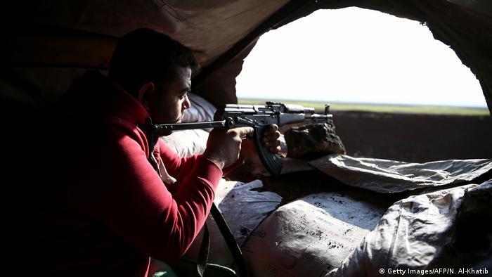 Syrien Tal Malid türkisch kontrollierte Milizen