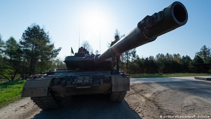 Kampfpanzer vom Typ Leopard 2 A7
