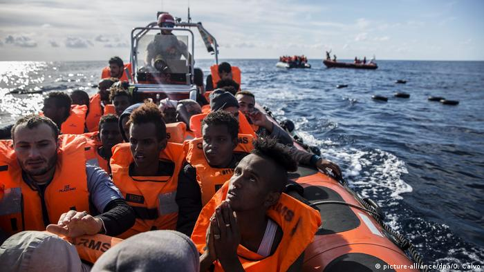 The Open Arms rescued the migrants on December 21, off the coast of Libya