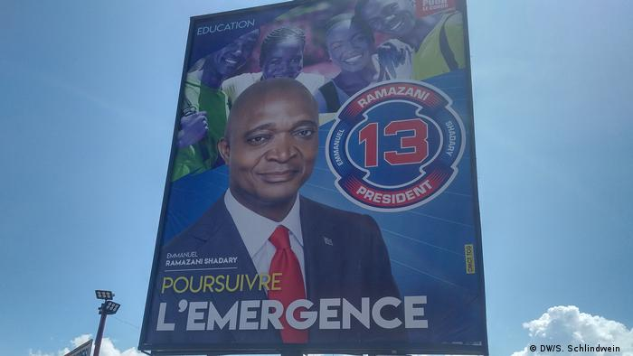 Election poster of Shadary